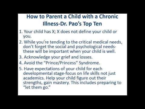 Parenting a Child Diagnosed with Health Issues
