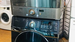 삼성 버블샷 드럼세탁기(자동세제)+엘지건조기