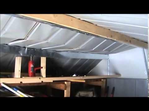 Metal Shed Roof Repair Youtube