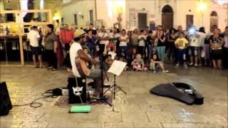LET HER GO - Edwin One Man Band - Busking Summer Tour 2014 - Rodi Garganico