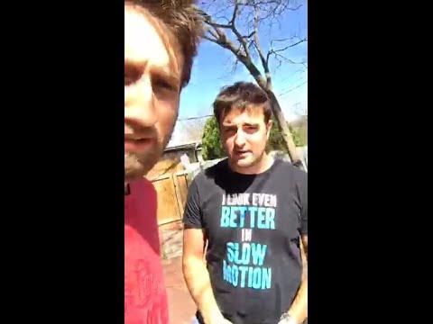 Gavin Free Periscope — Slow Mo Filming Break