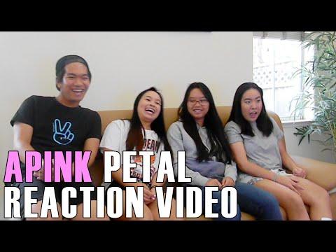 APINK (에이핑크)- Petal (Reaction Video)
