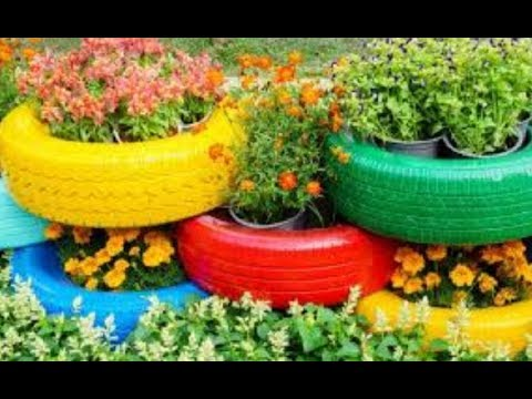 The Most Beautiful Top 51 New Ideas Reuse Old Tires! Making Garden ...
