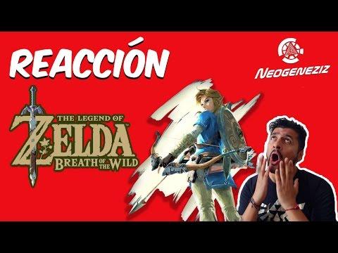¡¡¡REACCION!!! Trailer  ZELDA BREATH OF THE WILD Y coperacha pal NINTENDO SWITCH