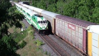 Bayview Junction Aug 1 2015 CN VIA GO Transit Amtrak