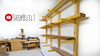 Shop Built - Lumber storage (rack)