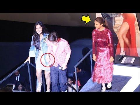 Anushka Gets JEALOUS Of Katrina Kaif Getting LOVE & Attention From Shahrukh Khan At Zero tions