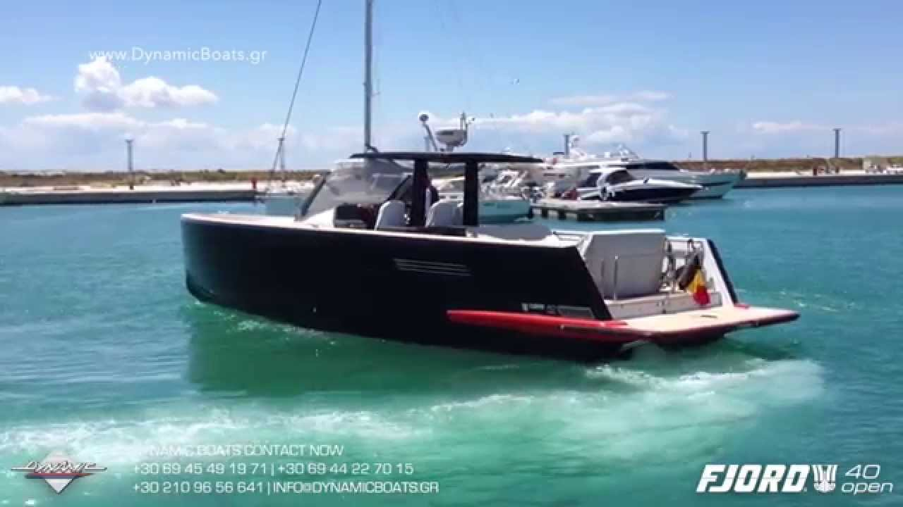 Fjord 40 Open Fjord 40 Open with Volvo Penta D6 435hp IPS ...