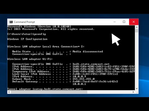 Windows 10 How To Find Your Ip Address Youtube