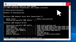 Windows 10 - How to Find Your IP Address
