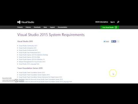 Visual Studio System Requirements