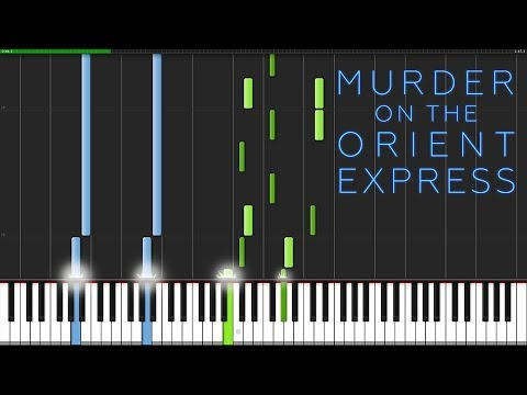 Never Forget - Murder on the Orient Express [Piano Tutorial] (Synthesia) // mzmaster