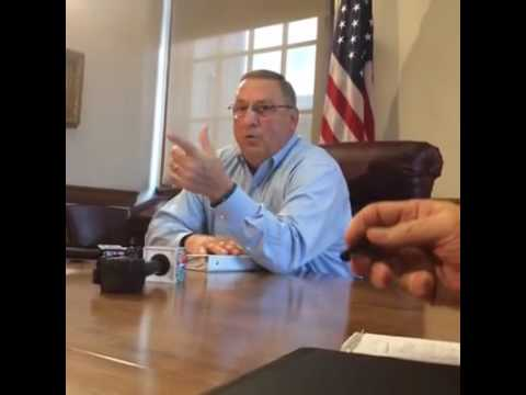 Gov. Paul LePage apologizes for obscene language in voicemail