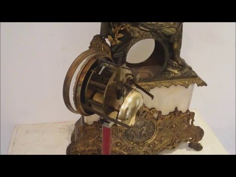 ancien-cartel-bronze-époque-restauration-antique-french-clock