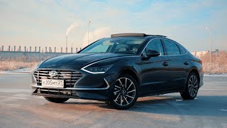 Hyundai Sonata 2020. Тест-драйв.