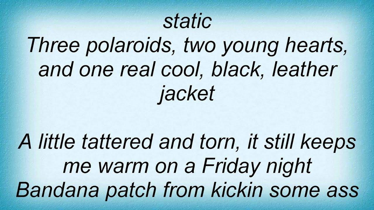 Leather jacket joyce manor lyrics - Keith Urban Black Leather Jacket Lyrics