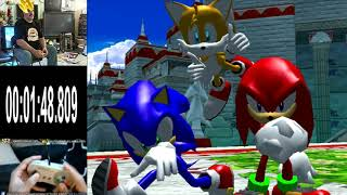 SONIC HEROES - TEAM SONIC SPEEDRUN IN 5:51 BY TODD ROGERS !? (#1 IN THE WORLD)