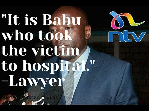 Babu Owino's lawyer