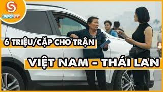 Tin thể thao 24h - Vé trận Việt Nam - Thái Lan bị đẩy lên 6 triệu đồng một cặp