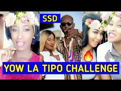 YOW LA TIPO CHALLENGE AVEC NABOU ET CHAABI (POD ET MARICHOU) ET LENA GUEYE (MBETTEL) | SSD LA RÉA