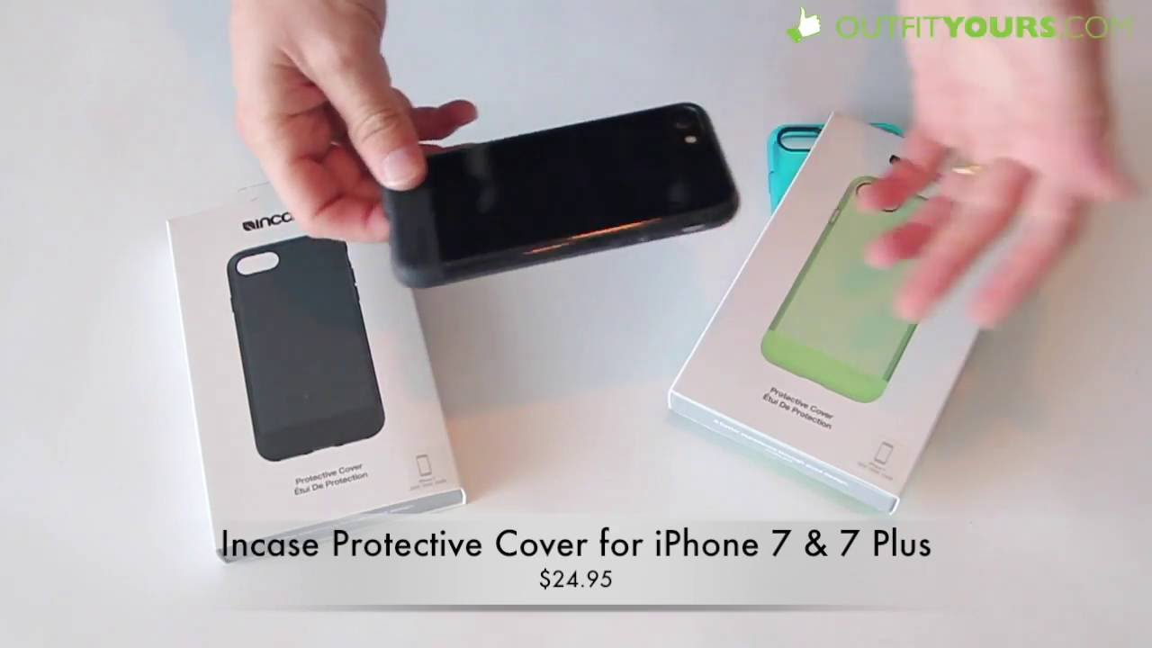 newest a28e8 ce5ba Incase Protective Cover for iPhone 7 & 7 Plus Review - INPH170251-BLK