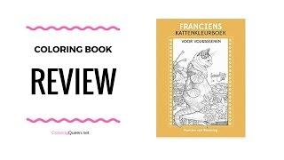 Franciens kattenkleurboek voor volwassenen Coloring Book Review 🐱