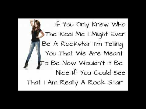 Miley Cyrus - Rock Star + Lyrics ♥