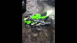 49cc 2 stroke pocket bike