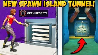 *NEW* SECRET TUNNEL AT SPAWN ISLAND!! - Fortnite Funny Fails and WTF Moments! #832