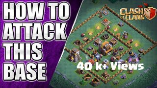 How to Attack on BH5 Most Popular Base || on Anti 1 Star Base || Clash of Clans
