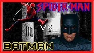 SPIDERMAN vs BATMAN in Real Life | Parkour, Flips & Kicks