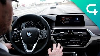 self driving and very smart bmw at ces 2017
