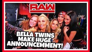 BELLA TWINS MAKE HUGE ANNOUNCEMENT Reaction | WWE Raw 8/27/18