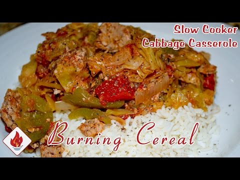Slow Cooker Cabbage Roll Casserole - Viewer RECIPE
