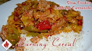 Slow Cooker Cabbage Roll Casserole - Recipe