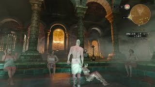 ウィッチャー3 ノヴィグラド大浴場の様子 お風呂 THE WITCHER 3 JP.ver 女郎屋 検索動画 14