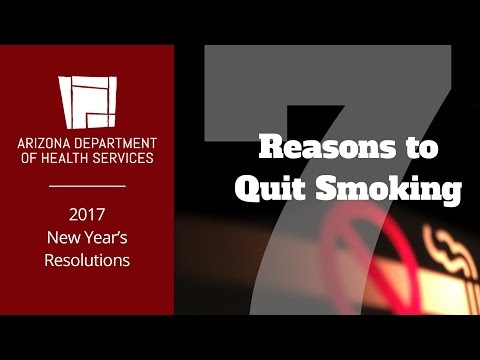 New Year's Resolutions: 7 Reasons to Quit Smoking
