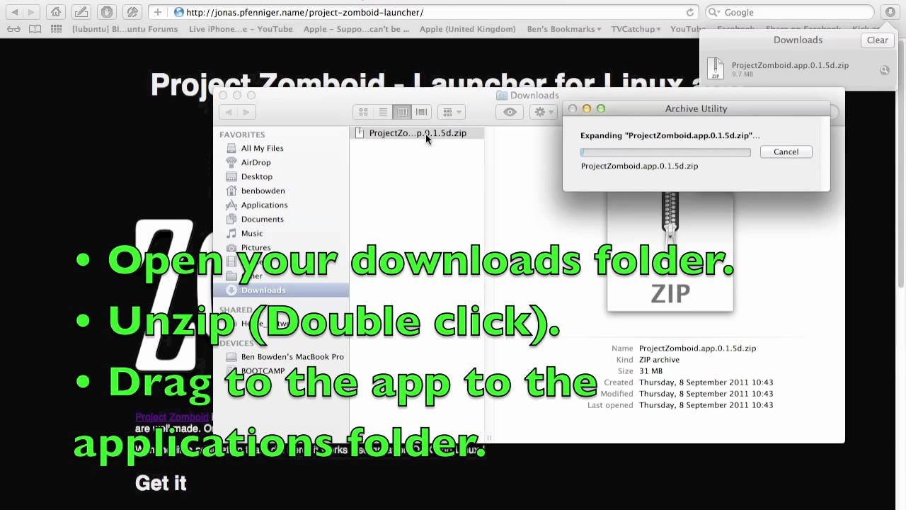 how to play project zomboid on mac