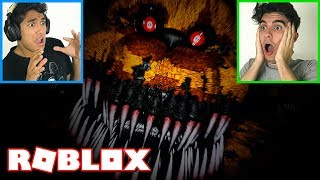 Roblox-WE were STUCK on FIVE NIGHTS AT FREDDY'S PIZZA!