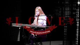 190921 BLACKPINK ROSÉ 로제 2019 PRIVATE STAGE [Chapter1] - L-O-V-E (Hairband ver.)