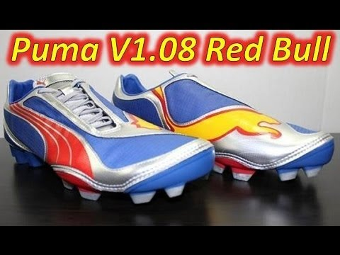 Retro Unboxing - Puma v1.08 Red Bull Limited Edition