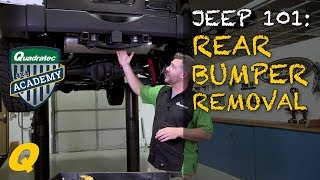 How to Remove Factory Rear Bumper on Your Jeep Wrangler JK