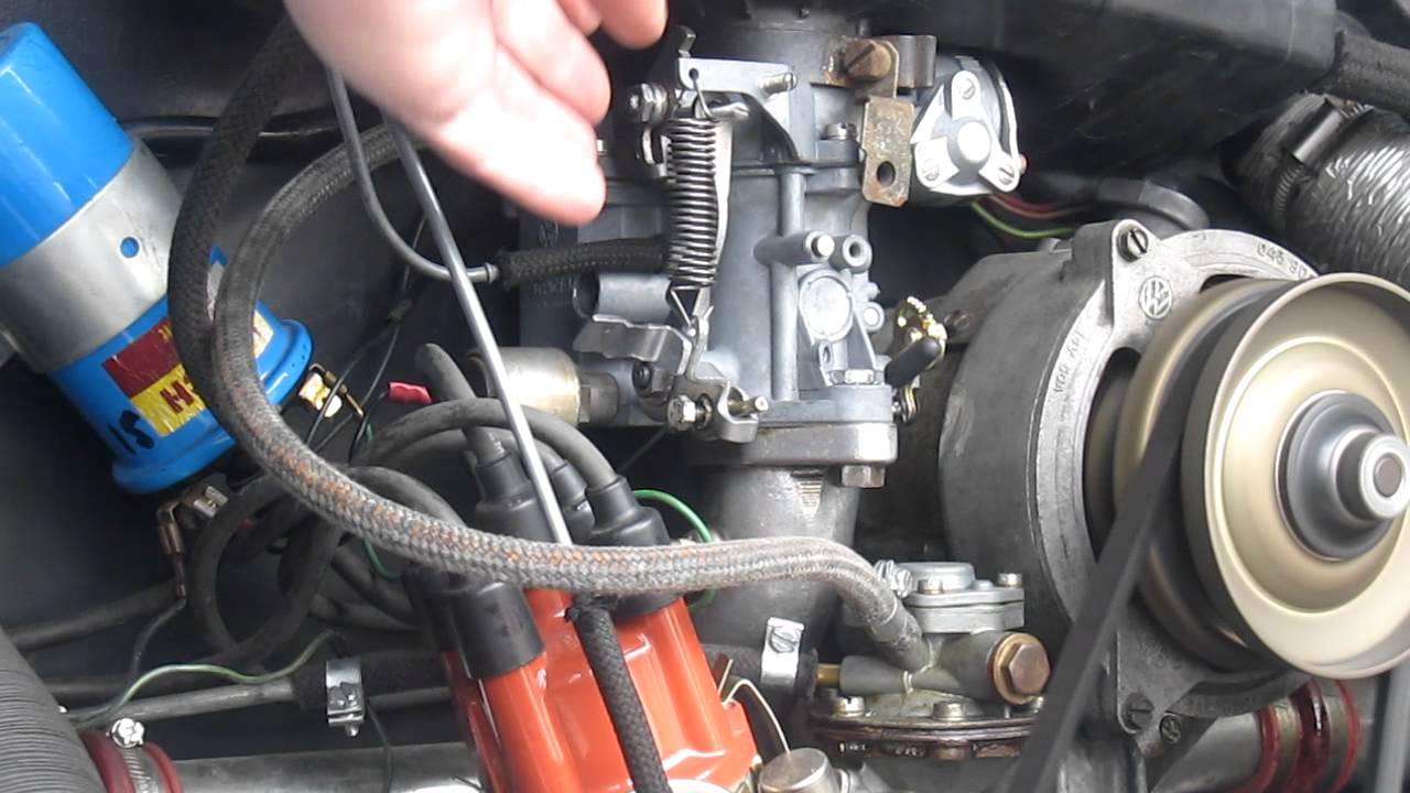 VW Solex 34PICT3 Carb, Rebushed and Rebuilt  YouTube