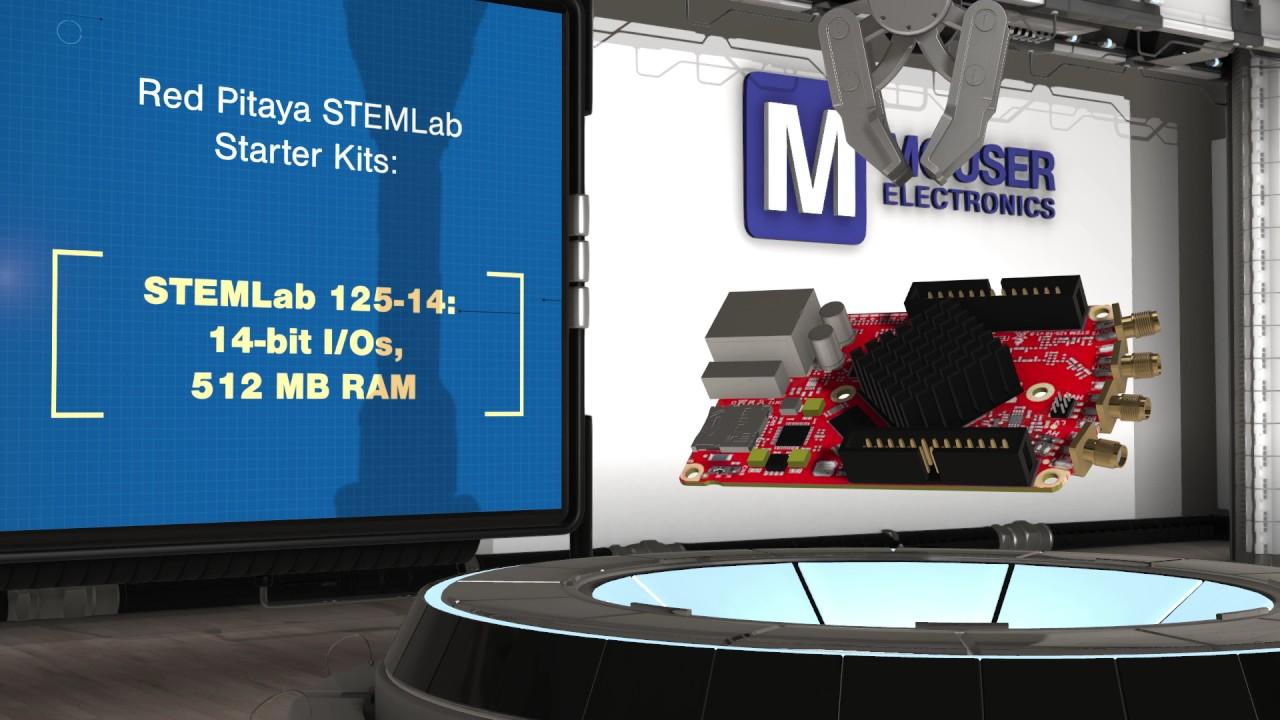 Red Pitaya Stemlab Starter Kits New Product Brief Mouser Electronic Watchdog Kit Electronix Electronics
