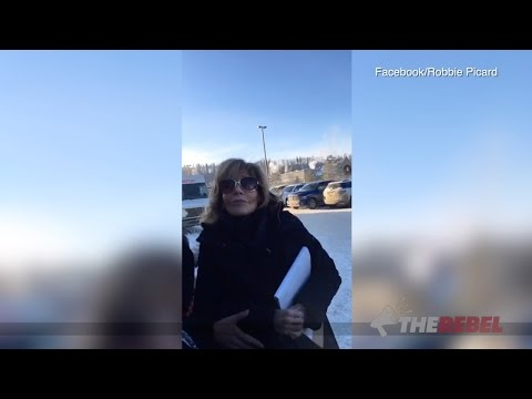 Robbie Picard confronts Jane Fonda in Alberta