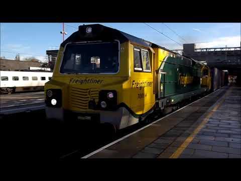 Stafford Railway Station 20th November 2017