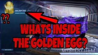 What's INSIDE the GOLDEN EGG? MORE INFO ON WHAT YOU CAN GET! | Rocket League