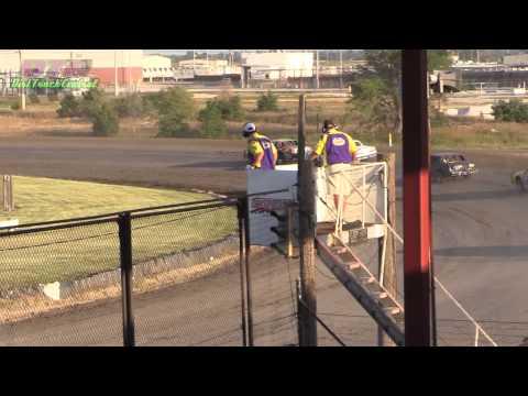 IMCA Hobby Stock Heats Dawson County Speedway 8 3 14