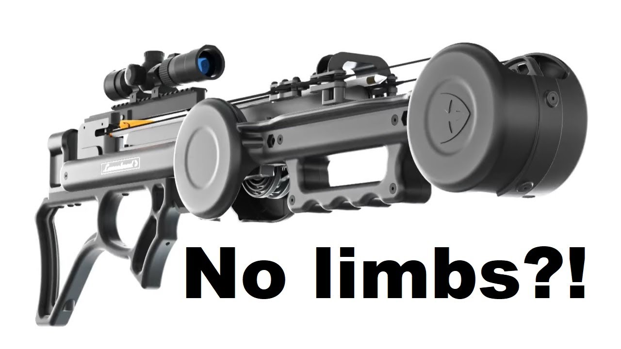 "Review: The 2,000 $  ""Lancehead F1"" Limbless Crossbow"
