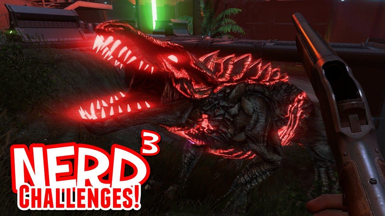 Nerd Challenges Kill A Dragon Far Cry 3 Blood Dragon Youtube